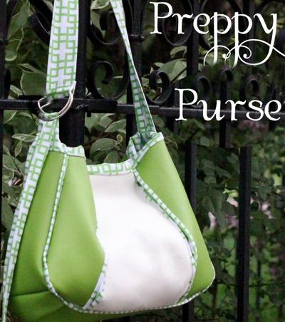 Preppy Pleaded Purse Bag Pattern