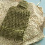 water bottle cozy knitting pattern
