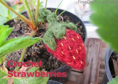 Strawberry Crochet + Knitting Patterns