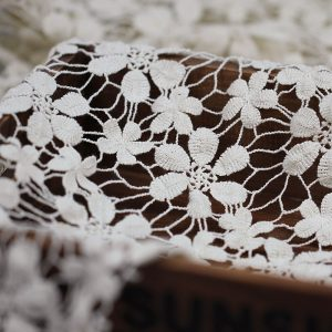 flower lace fabric