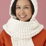 Easy and Comfy Hooded Scarf Crochet Pattern