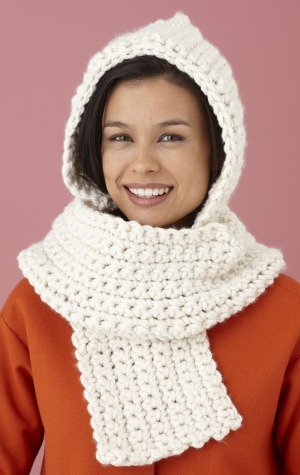 Easy and Comfy Crochet Scarf Pattern :: FineCraftGuild.com