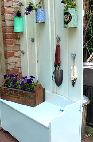 garden wall storage