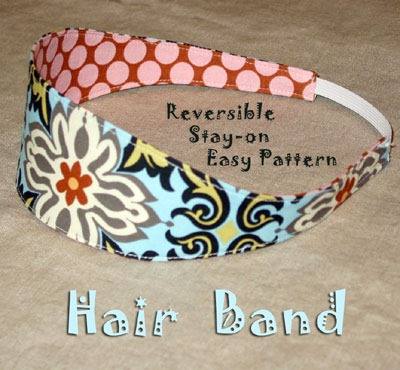 Accessories: Sew Your Own Hair Bands