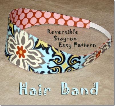 hair band template
