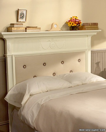 Mantelpiece Headboard