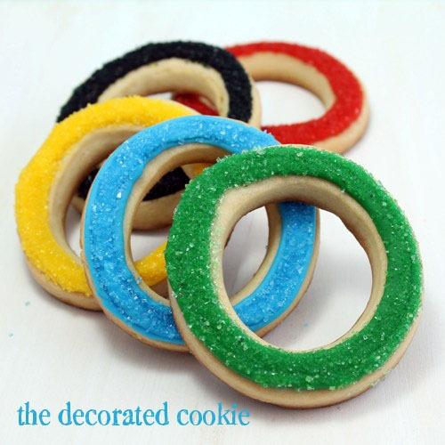 Olympic cookies recipe