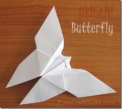 Best Origami Butterfly Ever — Instructions | Go Origami | 362x404