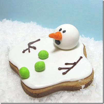 original melting snowman cookie recipe