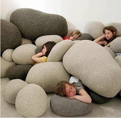pebble pillows