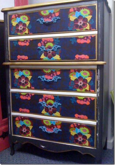 Fabric Art Dresser