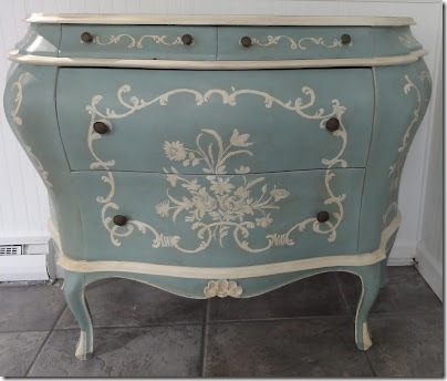 Recycled Venetian Antique Dresser gets a New Look