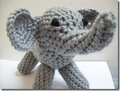 elephant crochet amigurumi
