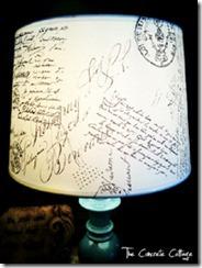 DIY-French-script-lamp-shade