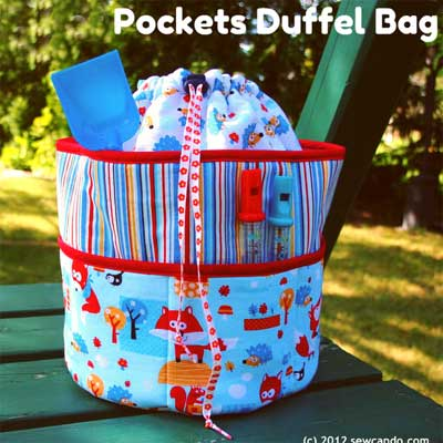 Quilted Duffle Bag - Sew Sweetness