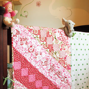Free easy Floral Twin Quilt Pattern