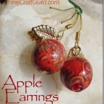 Apple Earrings (2 min DIY Jewelry)