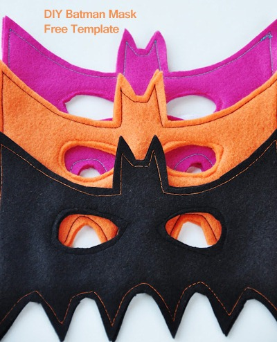 Batman Mask DIY