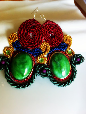 dori csengeri knockoff earrings