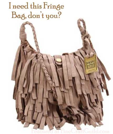 Frye Fringe Leather Bag
