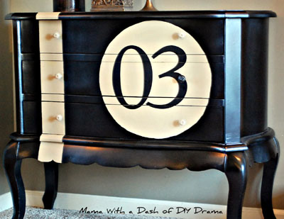 Recycled furniture :: DIY Race Car Dresser