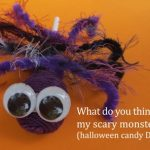 Hairy Halloween Candy Spiders