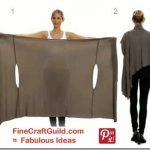 womens cardigan 'bina wrap' pattern