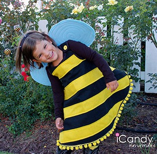 Bumble Bee Homemade Halloween Costume
