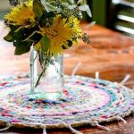 Lovely Loom Rug Finger Knitting Pattern