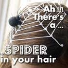 Halloween Costume Accessories: Spider Web Headpiece