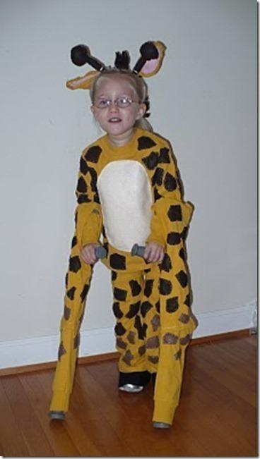 halloween costume ideas special needs giraffe