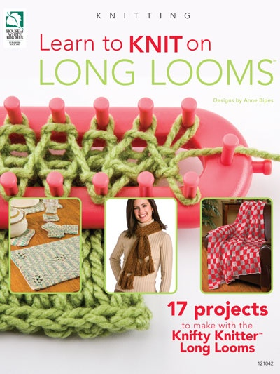 learn to knit on long looms :: FineCraftGuild.com