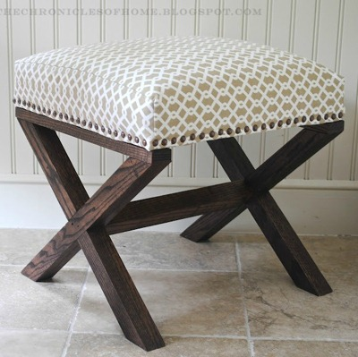 Ottomans: DIY Living Room Furniture