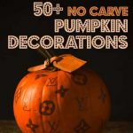 Halloween decorations, pumpkin decorations