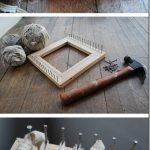 DIY Woven Table Rugs