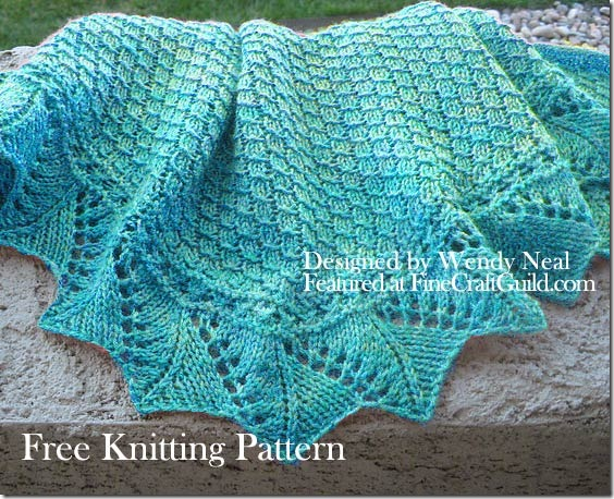 Knitting Lace Patterns Free : Lace Scarf Knitting Patterns