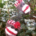 Sock Monkey Coffee Cup Sleeve Pattern
