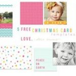 christ mas cards templates