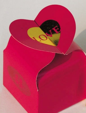 free Gift Boxes templates hearts
