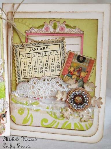 Free 2013 Calendar, Vintage