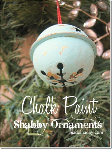 chalk-paint-bell-ornament