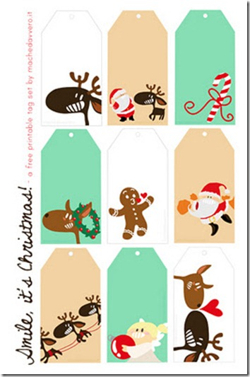 50+ Holiday Freebies: Gift Tags, Cards & Wrap Ideas