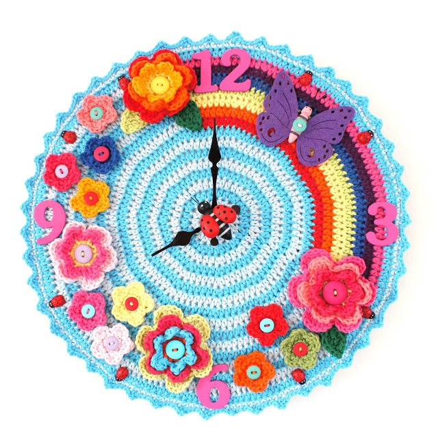 crochet_clock_free _crochet_patterns