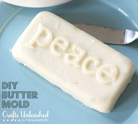 DIY Butter Mold ~ Cool!