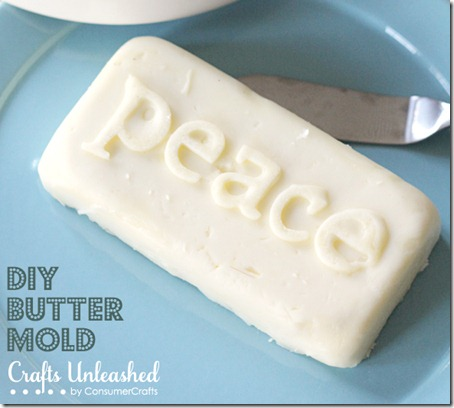 diy butter mold