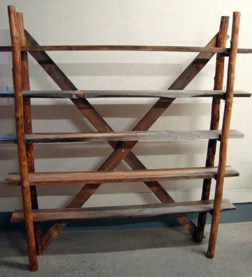 Decorate with recycled ladders for Old wooden ladder projects