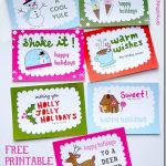 free fun family printable holiday cards