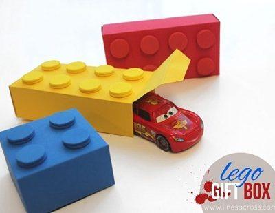 Lego Gift Boxes – Free Templates