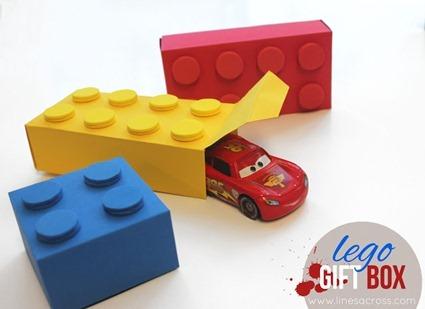 Lego Gift Boxes (Free Templates)