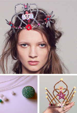 DIY party tiaras
